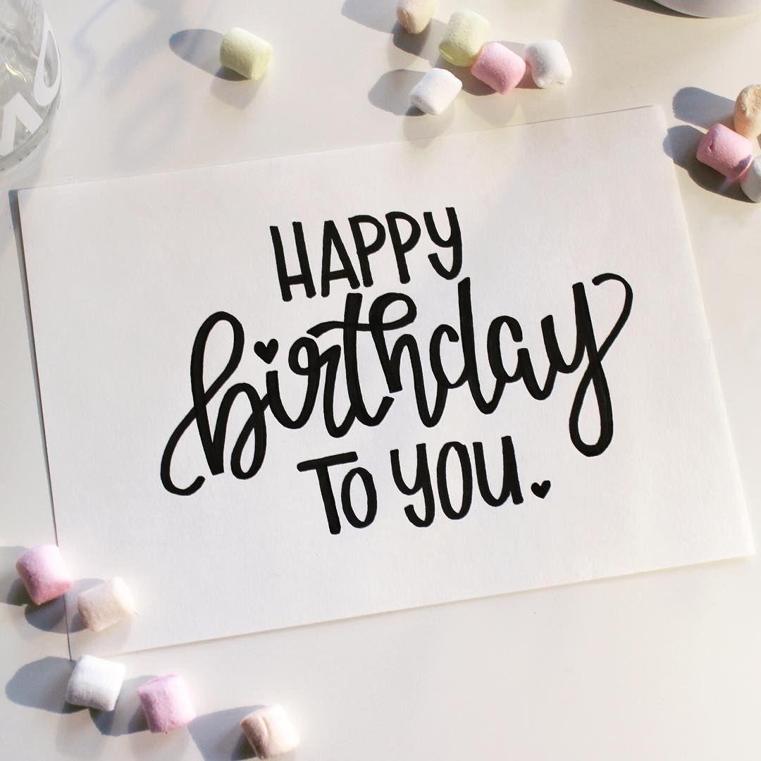 #Happybirthday Happy Birthday Again… . . #lettering