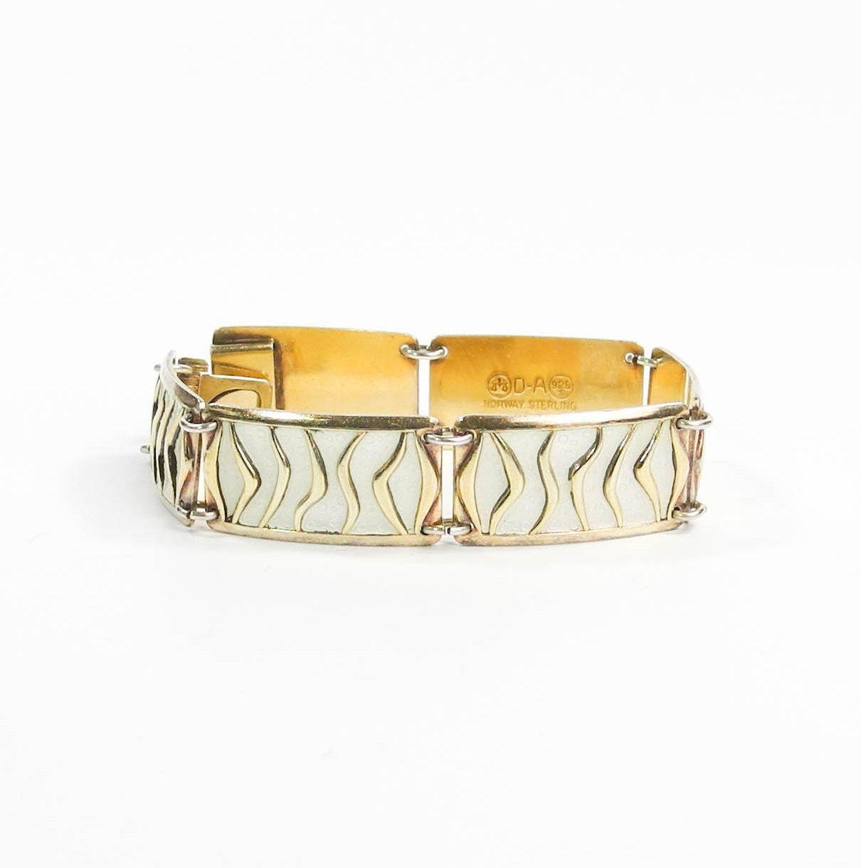 David Andersen Yellow Flower Bracelet