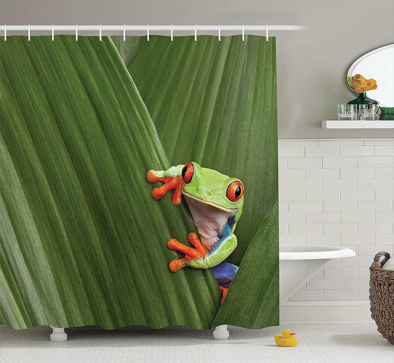 Coqui Puerto Rico Shower Curtain Curtains Shower Curtain