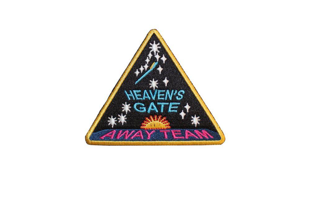 Image Of Feel U Heavens Gate Away Team Patch Rad Things