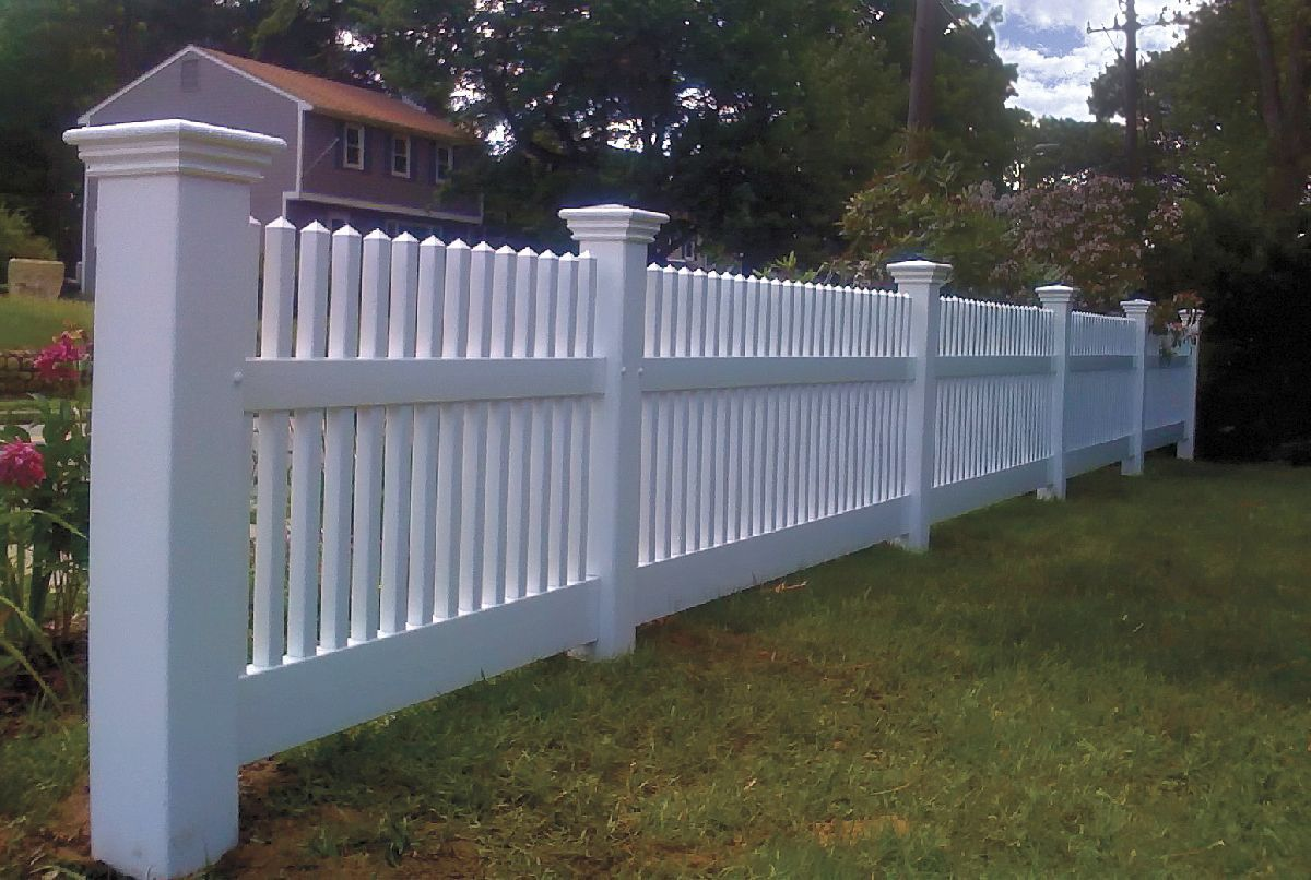Arrow Fence Vinyl Fences Marlborough Ma For The Home