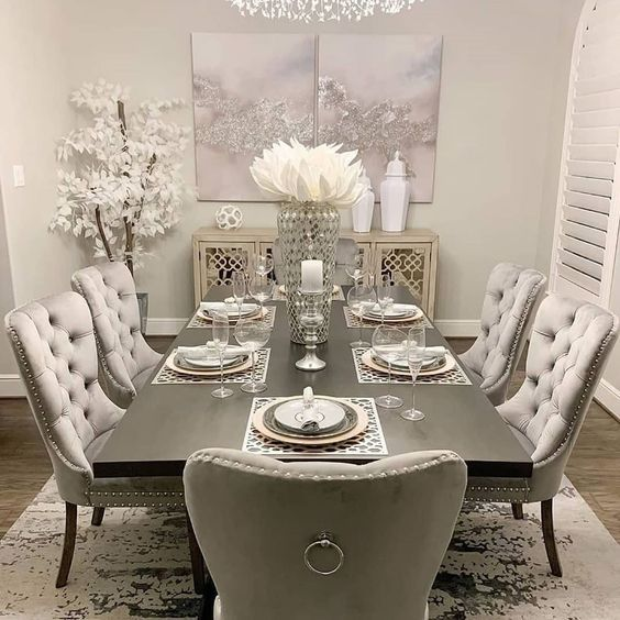 Enhance A Fall/Winter Aesthetic In Your Modern Dining Room