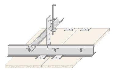 Falso techo registrable con perfileria oculta - Falso techo registrable ...