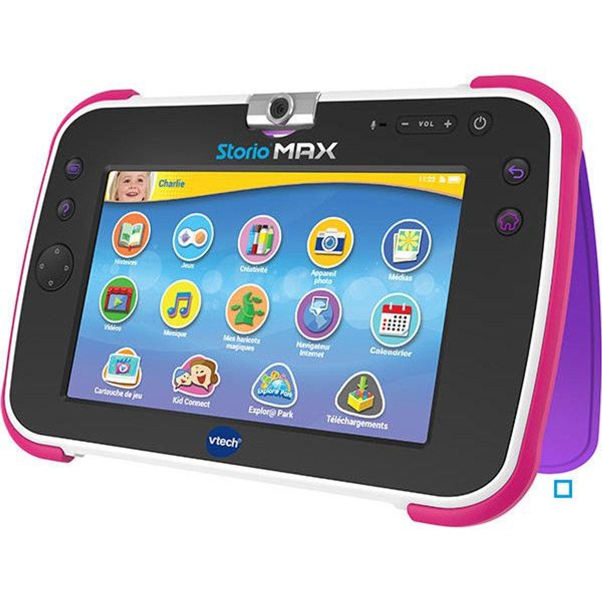 Tablette Storio Max Xl 2 0 Rose Tablette Pile Batterie Et High Tech