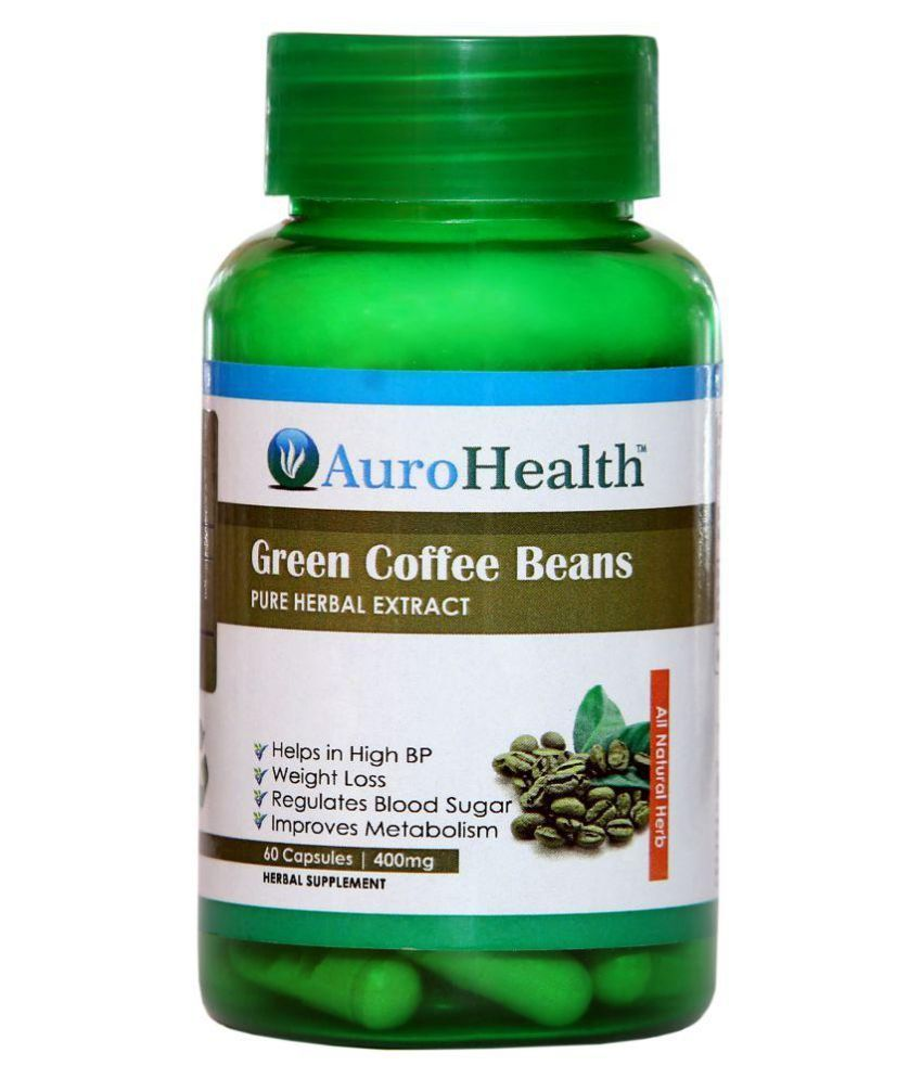 AuroHealth Green Coffee Extract (400mg) 60 Capsules