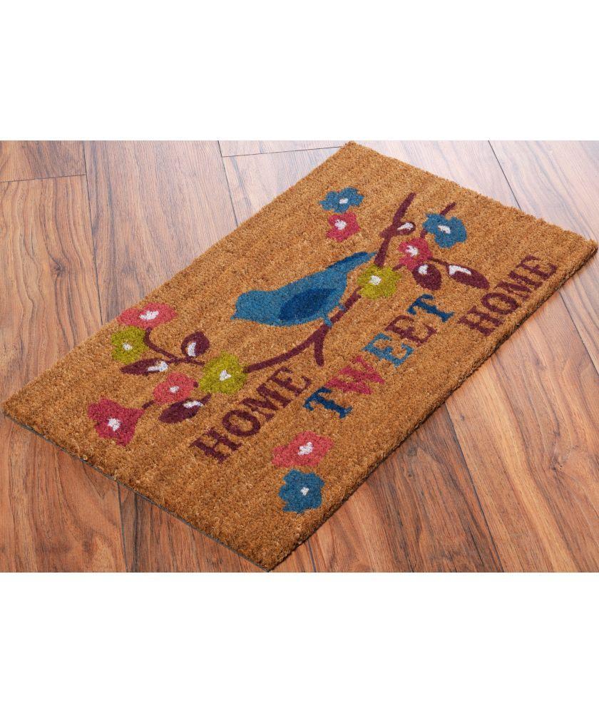 Buy Home Tweet Home Doormat - 70x40cm - Natural at Argos.co.uk ...