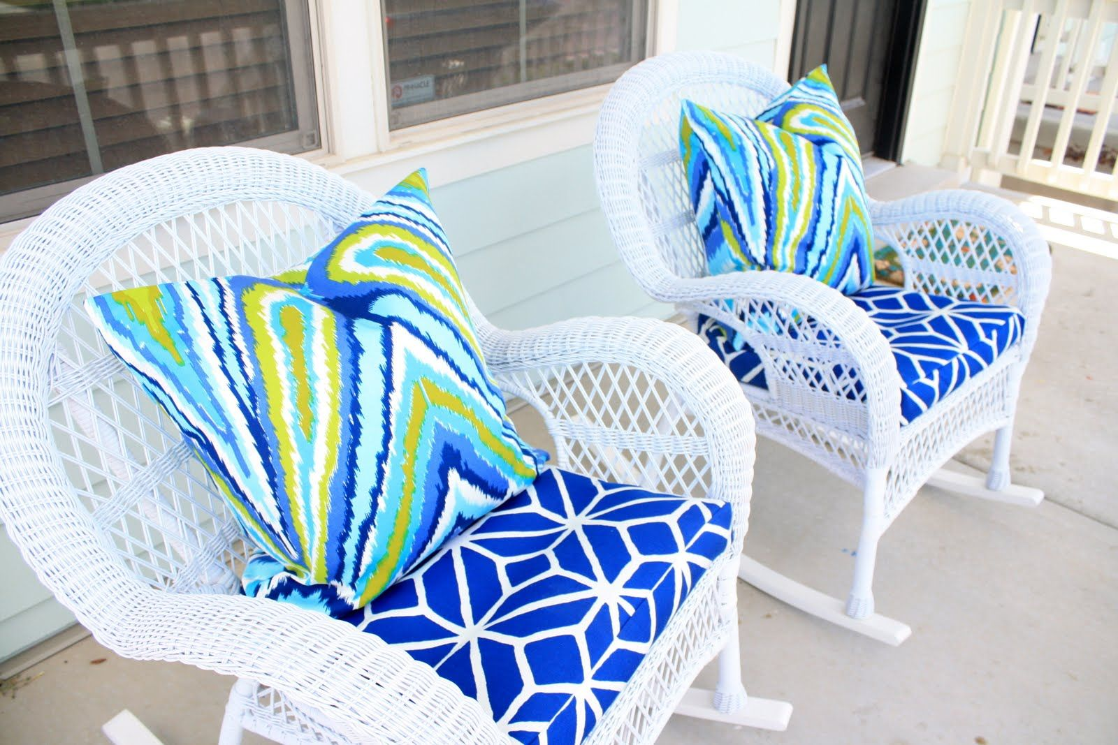 Wicker Rocking Chair Pier One Gaiam Exercise Ball My Little Beach House Pinterest