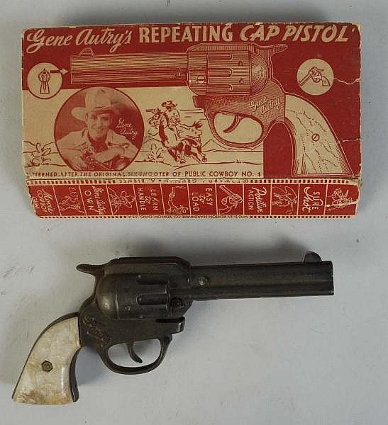 Gene Autry Repeating Cap Pistol Old Fashioned Toys Old Toys Vintage Toys