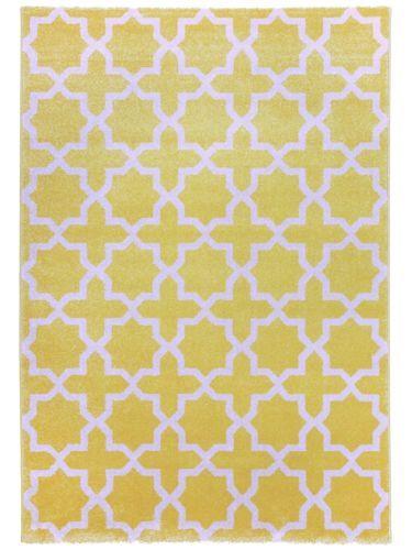 Details Zu Benuta Teppich Arabesque Gelb 60002844 Ornament, Geometrisch  Esszimmer, Flur