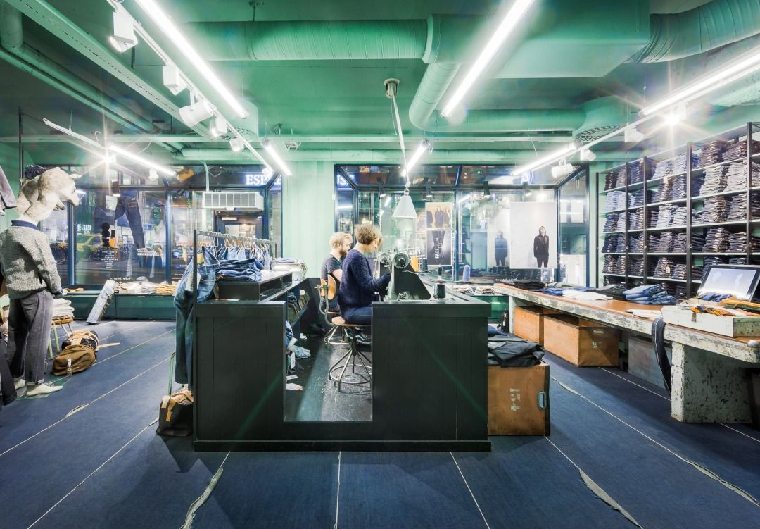 jeans butik stockholm