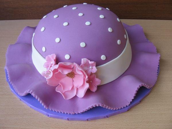 Fabulous Spring Hat Cake Cake Novelty Cakes Hat Cake Personalised Birthday Cards Sponlily Jamesorg