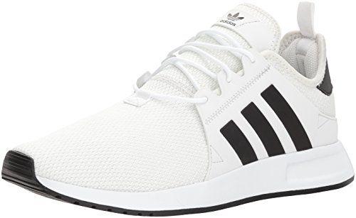 f2ff5387c9d807 adidas Originals Mens X PLR Running Shoe Tint Black White