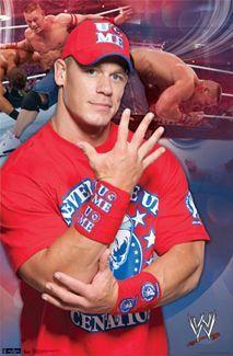 John Cena Wwe U Can T See Me Wwe Wrestling Poster Trends 2011 Wrestling Posters John Cena Wwe
