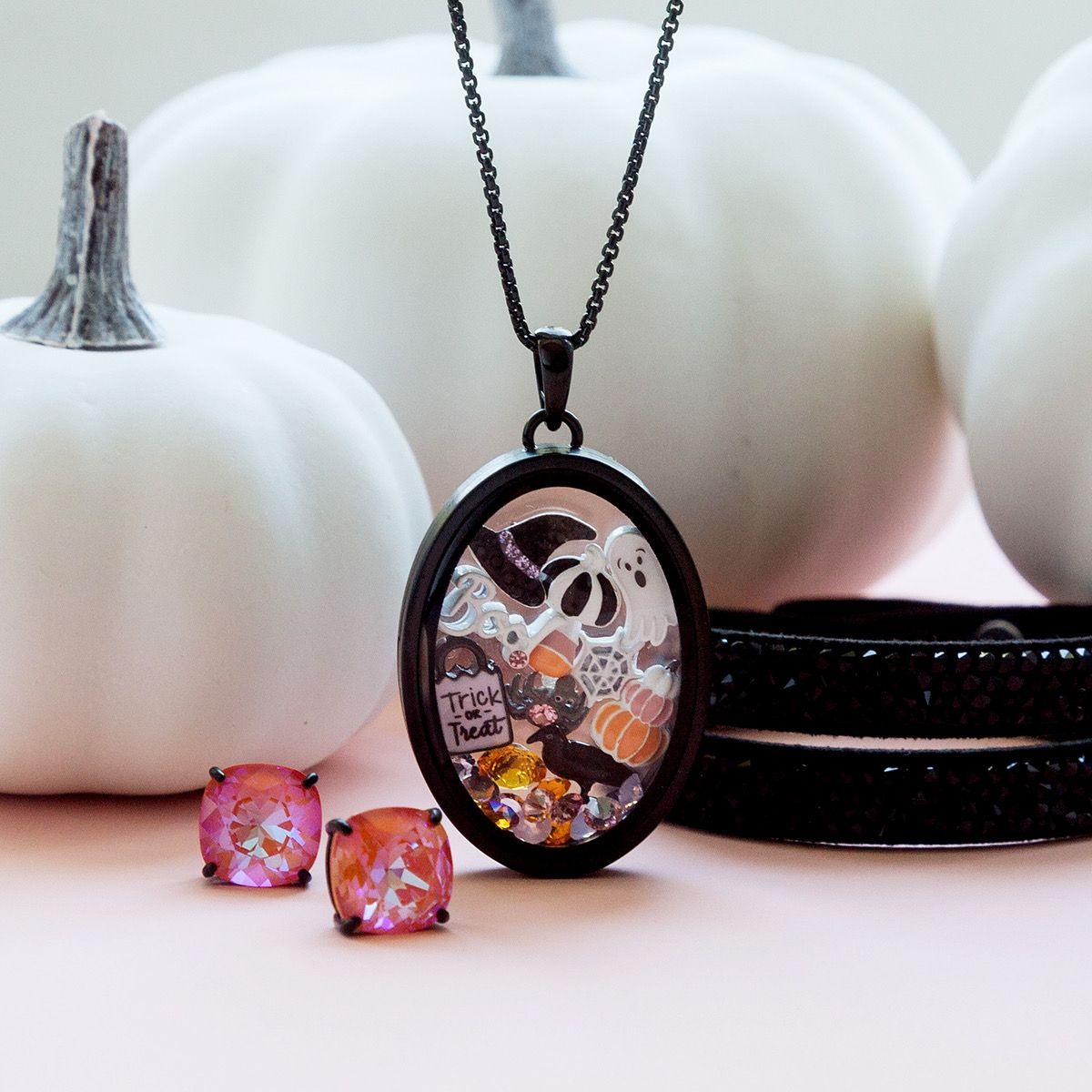 2020 Halloween Origami Owl Charms Origami Owl Custom Jewelry | Halloween Charms, Living Lockets +