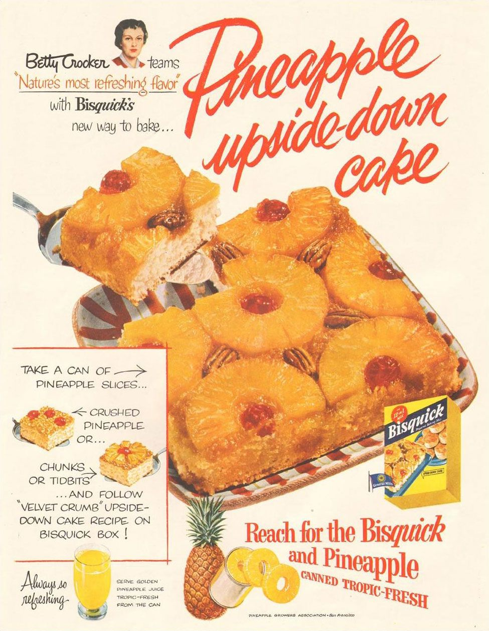 vintage betty crocker ads google search du bonheur dans la cuisine pinterest dessert. Black Bedroom Furniture Sets. Home Design Ideas