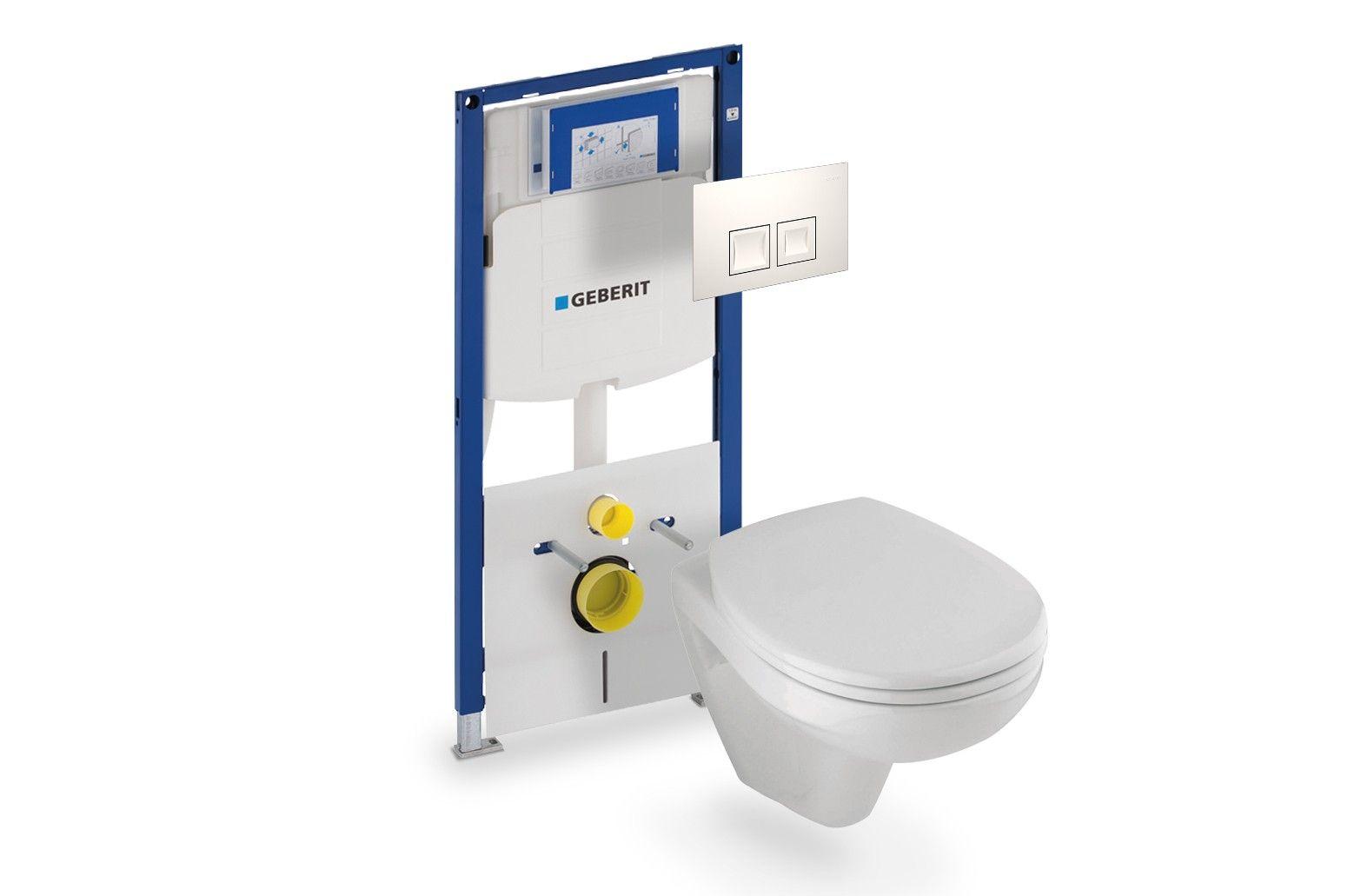 Geberit Hangend Toilet : Sphinx hangend toilet met geberit reservoir en bedieningsplaat