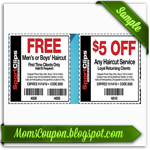 sports clips free haircut printable coupon