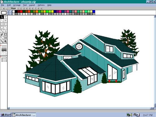 architecture design your own home by awesome and modern app for easy way with blueprint