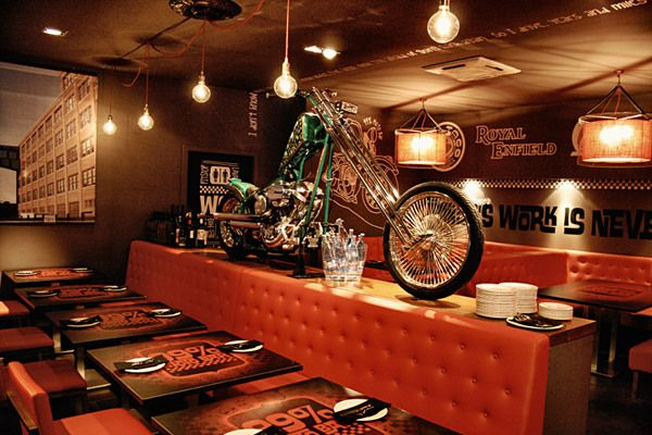 99 Moto Bar Photos By Brusco Via Behance Restaurant