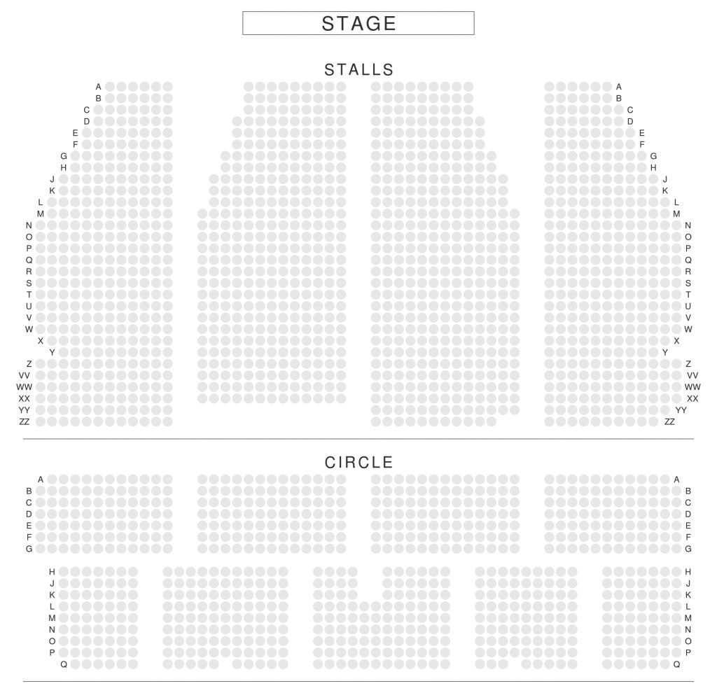 The Most Stylish Donmar Warehouse Dominion Theatre Seating Plan Nederlander Theatre