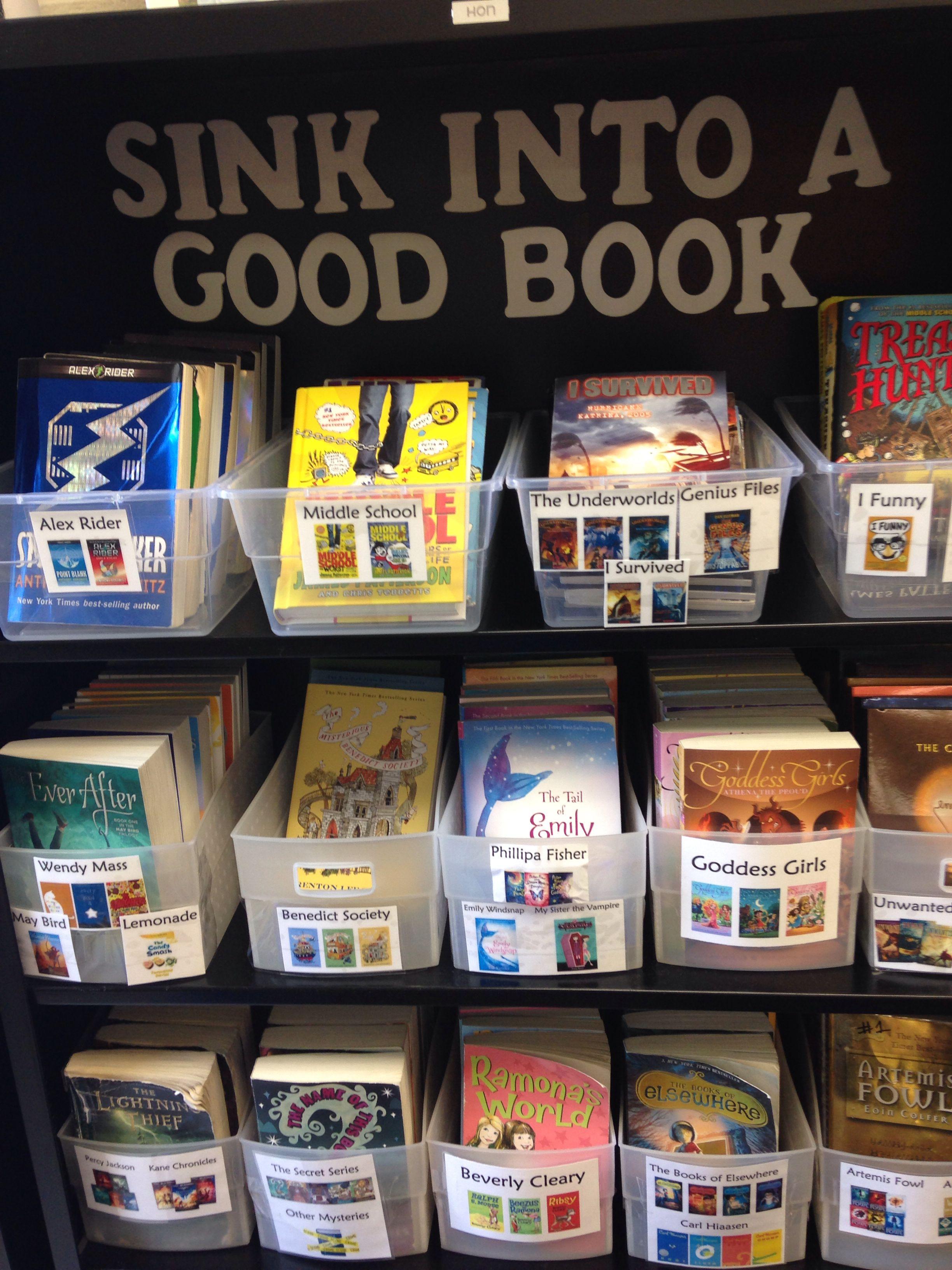Minimalist Classroom Book ~ Class library sign nautical decor classroom book labels