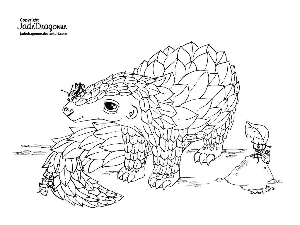 Miraculous Ladybug Lineart By Jadedragonne Da3kp By Xmisstinkx On Deviantart Pangolin Art Pangolin Coloring Pages