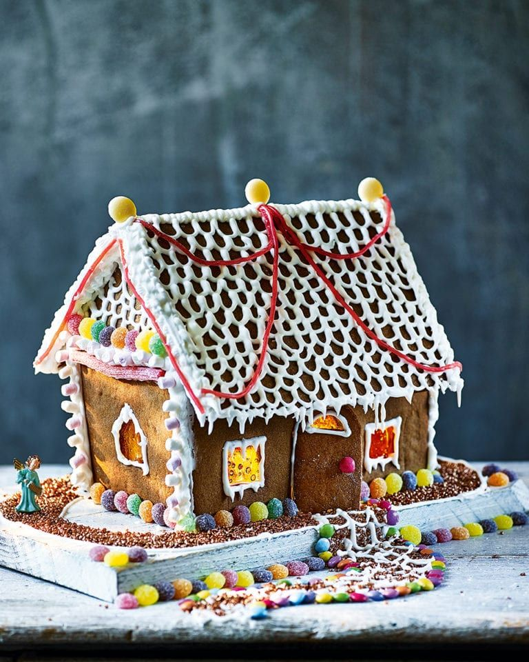 Gingerbread house kit recipe Gingerbread, Gingerbread