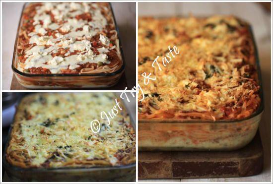 Resep Spaghetti Lasagna Mudah Dan Lezat Jtt Makanan Makanan Enak Masakan