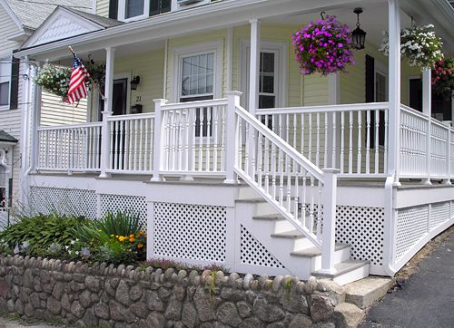 Pin By Reba Ponder Weiss On A Porches And What Lies Beneath Them Porch Lattice Lattice Deck Deck Skirting