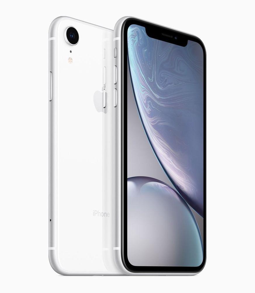 Apple Iphone Xr 256gb White Unlocked A1984 Cdma Gsm