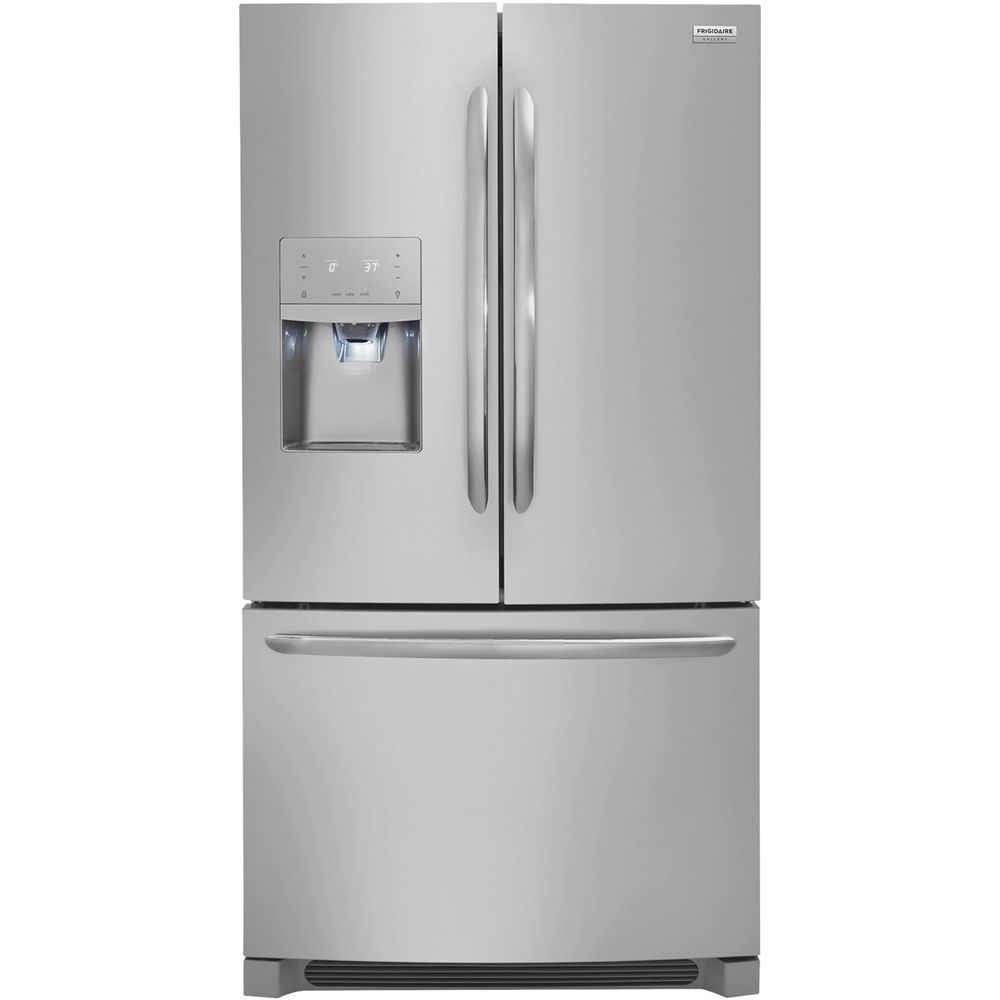 Frigidaire Gallery 21 7 Cu Ft French Door Refrigerator Stainless Steel Frigidaire Gallery Counter Depth French Door Refrigerator French Door Refrigerator