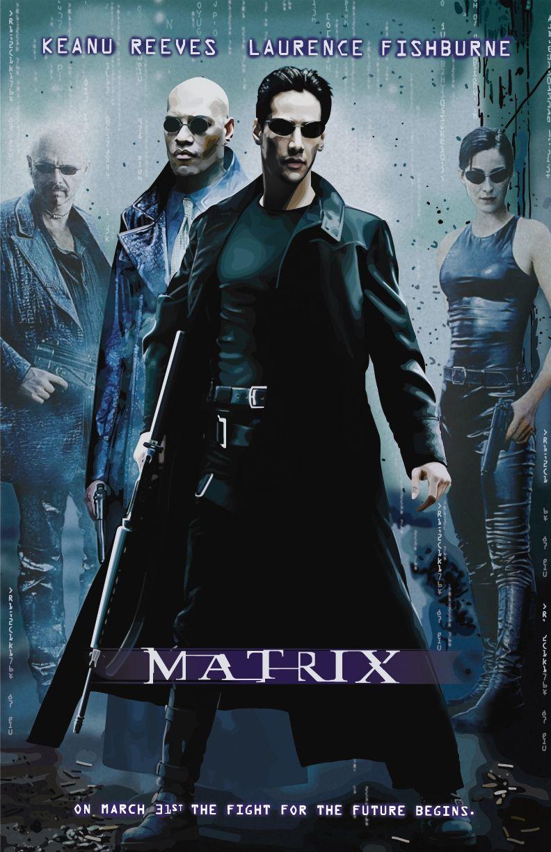 Matrix 1999 Par Larry Et Andy Wachowski The Matrix Movie Goonies Movie Poster Keanu Reeves