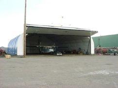 Plane Hangar With Coverall Building Global Plastic Sheeting Usa Distributor Fabric Buildings Coverall Building Fabric Structure