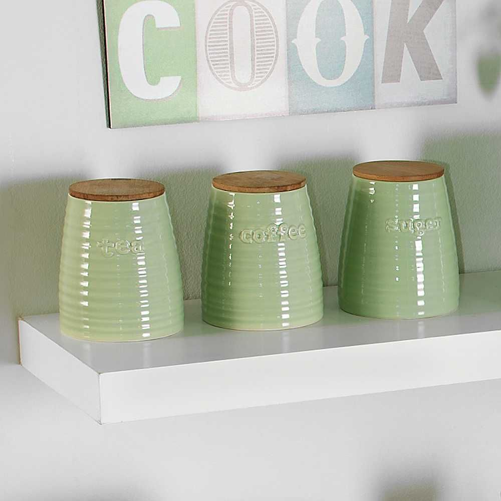 Winnie Set of 3 Kitchen Canisters   Otthon