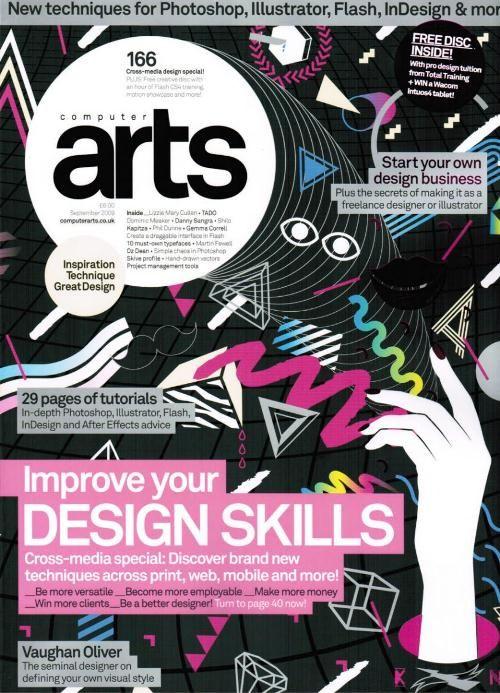 15 Creatively Designed Computer Arts Magazine Covers Magazine Art Magazine Cover Computer Art