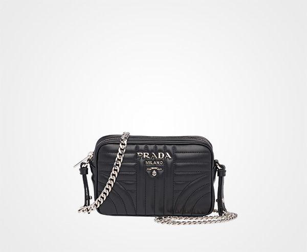 095eb9cdc404 Prada Diagramme leather cross-body bag