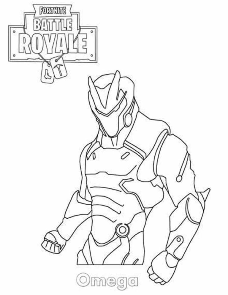 fortnite coloring pages omega Fortnite Coloring Pages Omega | Games in 2019 | Coloring pages  fortnite coloring pages omega