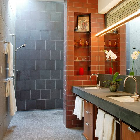 long and narrow bathroom design ideas, pictures, remodel