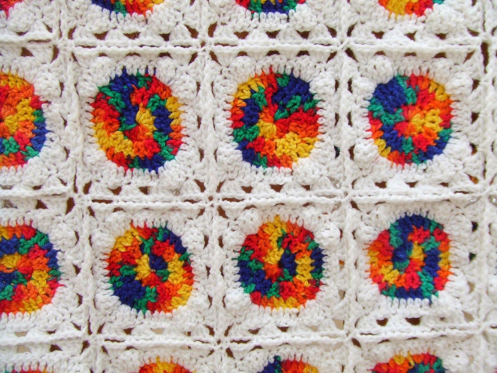 My world of crochet: Tutorial: Clown-Babydecke | HÄKELN: Grannys ...