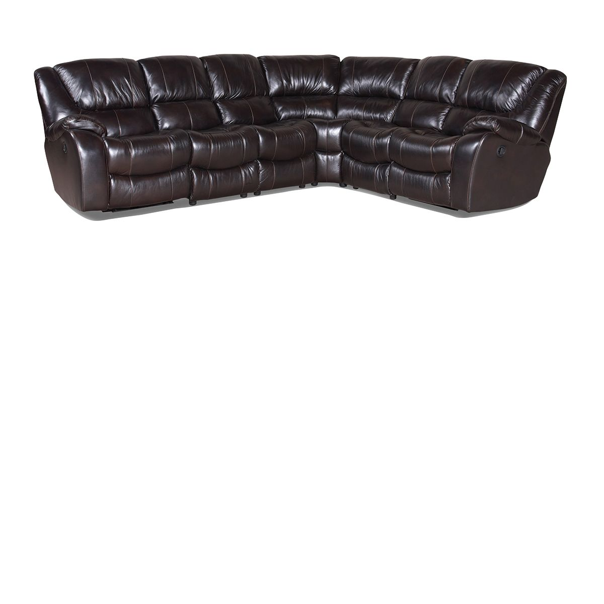 Sectional Sofas The Dump: Tannery Closeout: Leather Sectional