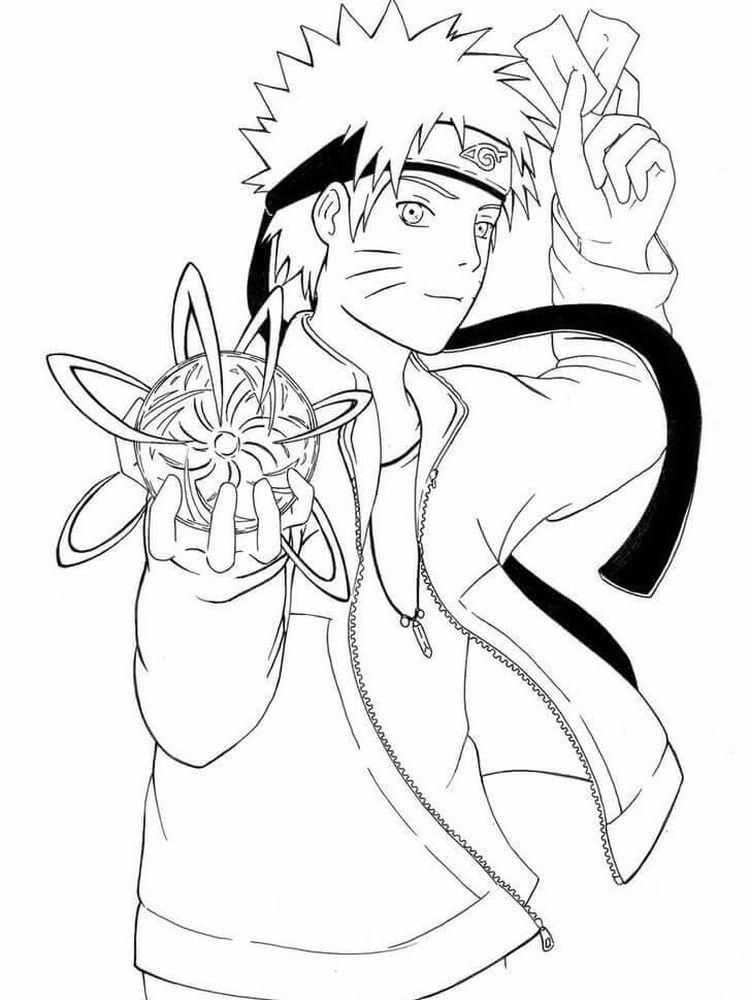 Naruto Chibi Desenhos Para Colorir Naruto Desenhos Preto E