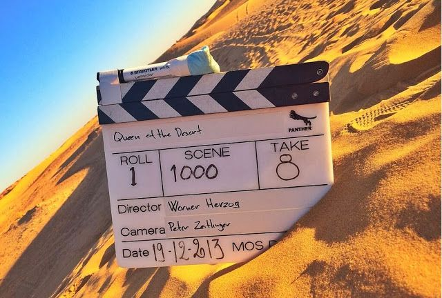 """FIRST IMAGE OF """"Queen Of The Desert"""""""