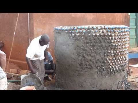 Water Tank built with Plastic Bottles - YouTube