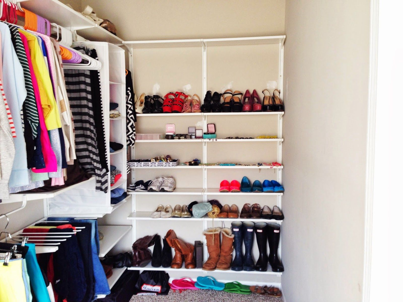 The Closet Of My Dreams: Building A New Algot System | Lilibelle Marie