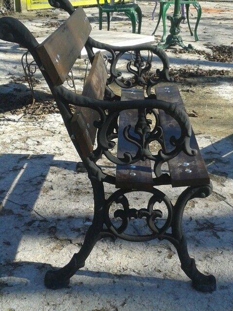 hierro y madera bancos para jardin casa milagros