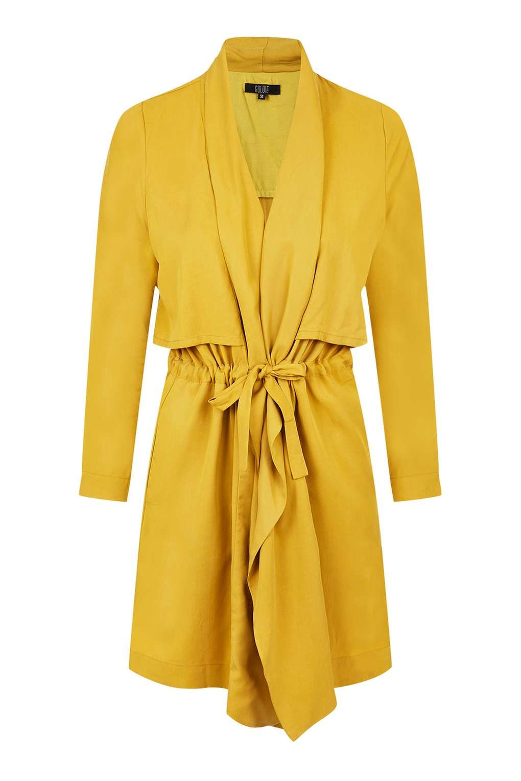 f2ad9211a Stalker - Mustard Yellow Waterfall Coat by Goldie | clothes ...