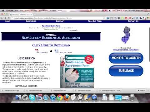Download http\/\/rentalleaseagreement\/New-Jersey-Residential - month to month rental agreement form