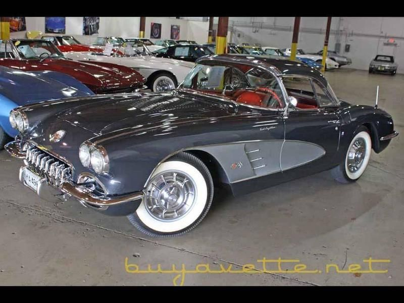 1958 Chevrolet Corvette for sale - Atlanta, GA | OldCarOnline.com ...