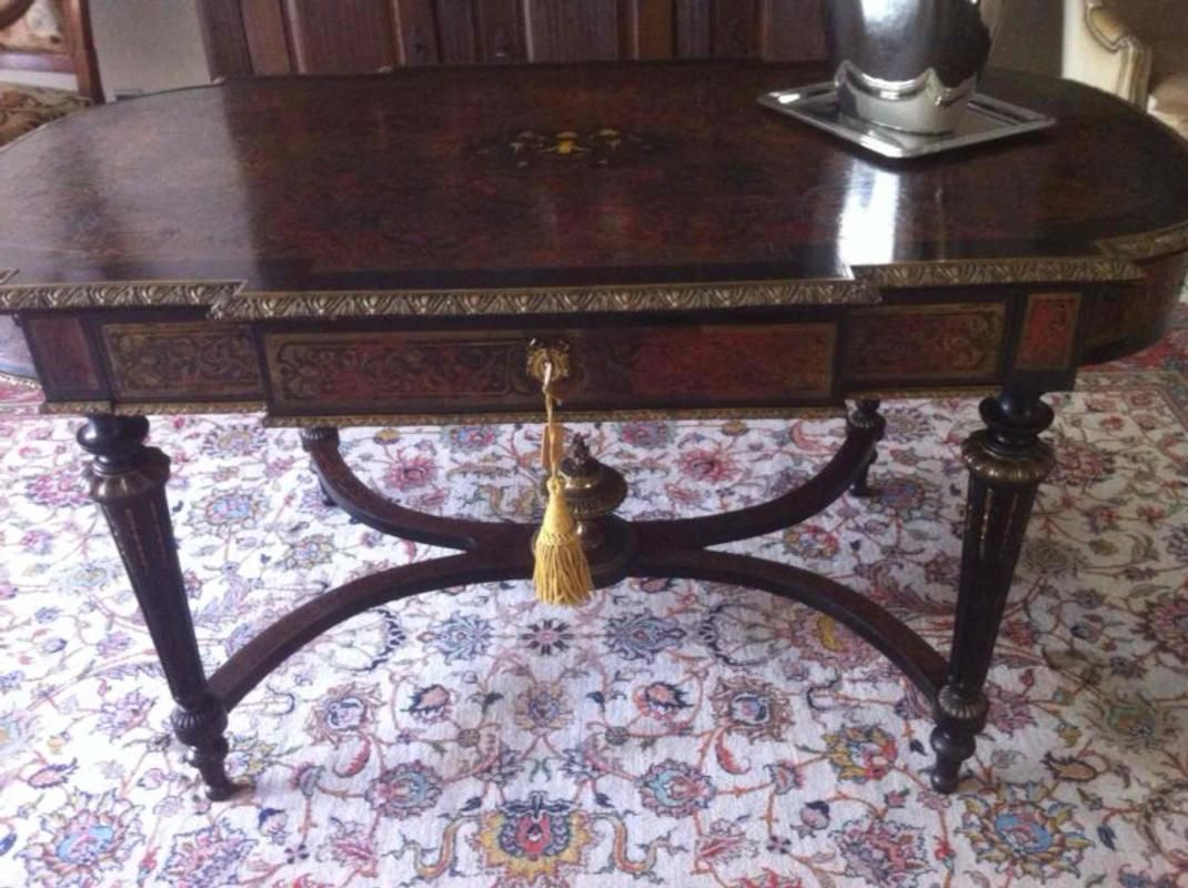 Nice Boulle table