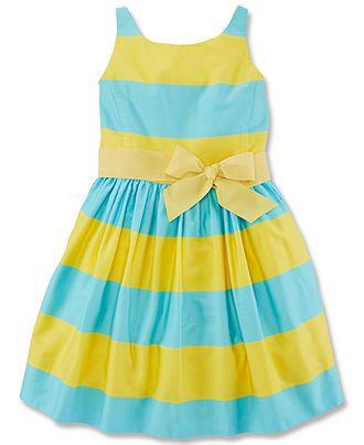 Polo Ralph Lauren Girls  Sateen Dress - Kids Dresses   Dresswear - Macy s 145e64680a25
